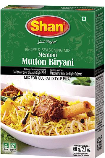 SHAN Memoni Mutton Biryani Mix