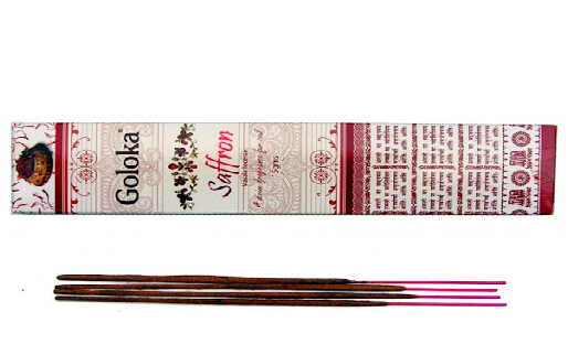 Smilkalai Galoka Saffron (Šafrano kvapo smilkalai)